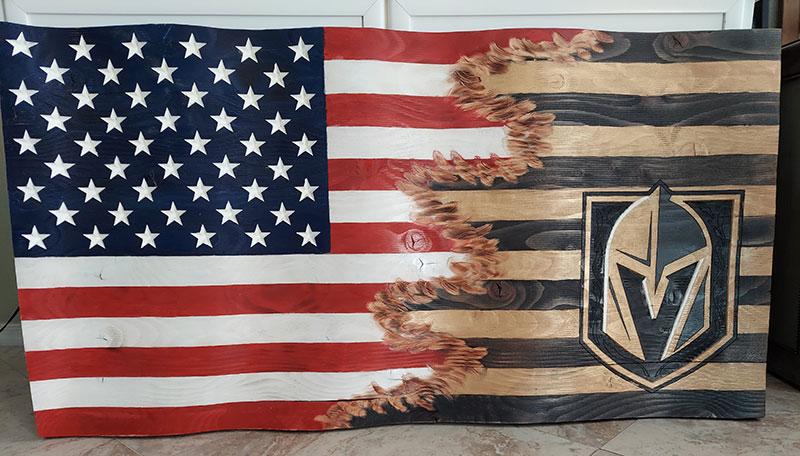 Custom Jack's American/VSK Flag