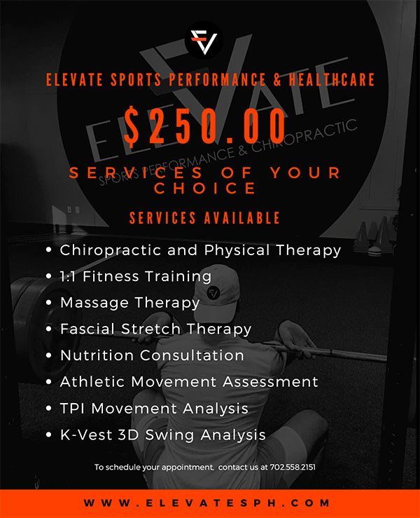 Elevate Sports Performance Gift Certificate