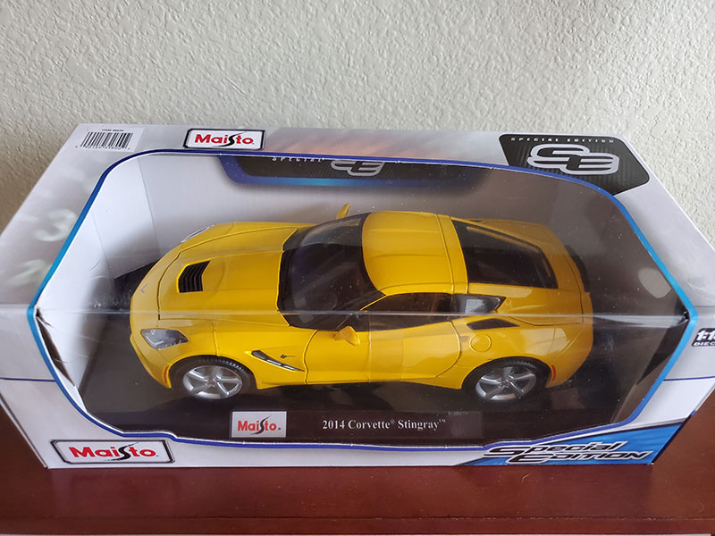 Special Edition Collectable Car – 2014 Corvette Stingray